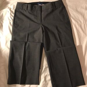J Crew charcoal grey lined wool pants NWOT